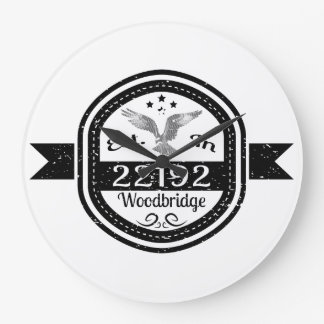 Relógio Grande Estabelecido em 22192 Woodbridge