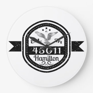 Relógio Grande Estabelecido em 45011 Hamilton