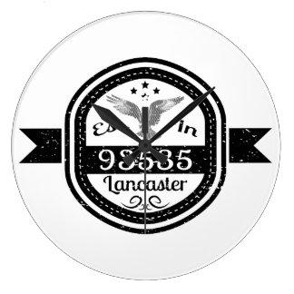 Relógio Grande Estabelecido em 93535 Lancaster