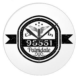 Relógio Grande Estabelecido em 93551 Palmdale