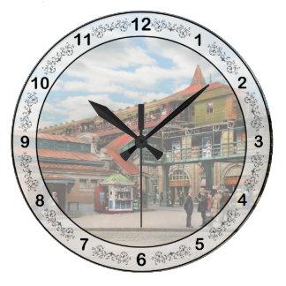 Relógio Grande Estação de caminhos-de-ferro - casa atlântica 1910