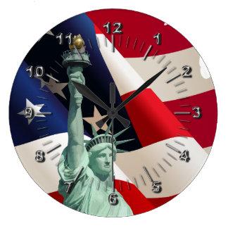 Relógio Grande Estátua da liberdade