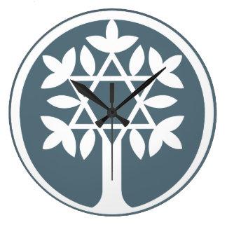 Relógio Grande Estrela de David - árvore do pulso de disparo de