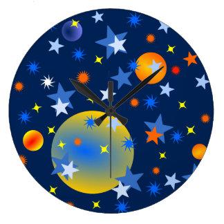 Relógio Grande Estrelas e planetas celestiais
