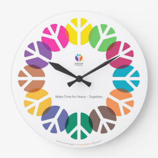 Relógio Grande Faça a hora para a paz - junto/