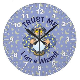 Relógio Grande Feiticeiro com bola