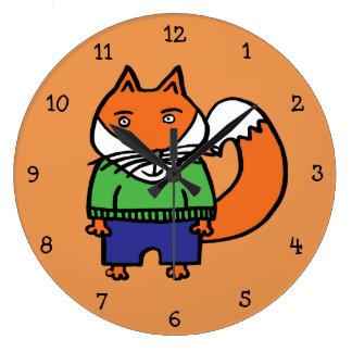 Relógio Grande Felix o Fox