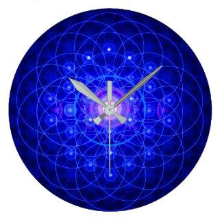 Relógio Grande Flor do pulso de disparo da vida