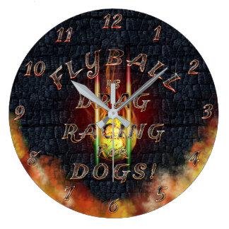 Relógio Grande Flyball Flamz: Arrasto que compete para cães!