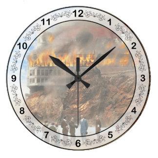 Relógio Grande Fogo - fogo 1907 de Cliffside