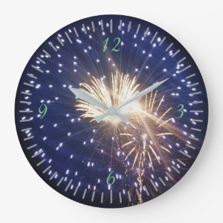 Relógio Grande Fogos-de-artifício!!!