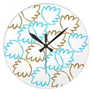 Relógio Grande folhas