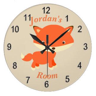 Relógio Grande Fox bonito do bebê do pulso de disparo das