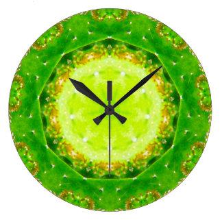 Relógio Grande Fractal da armadilha do Prickle do cacto