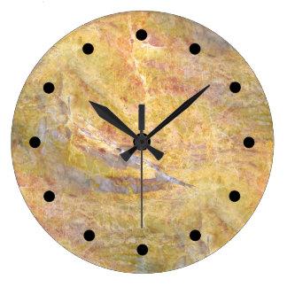 Relógio Grande Fundo de pedra moderno