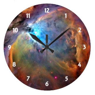 Relógio Grande Galáxia do espaço da nebulosa de Orion