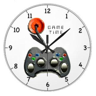 Relógio Grande Gamer video