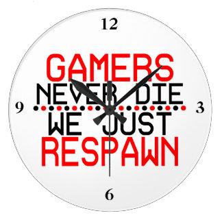 Relógio Grande Gamers Respawn