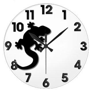 Relógio Grande Geco preto