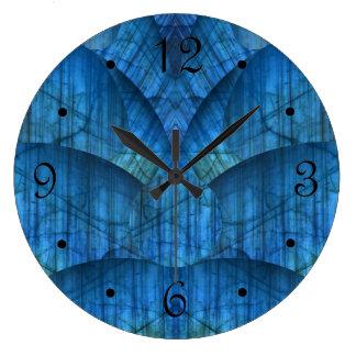 Relógio Grande Gemas da labradorite