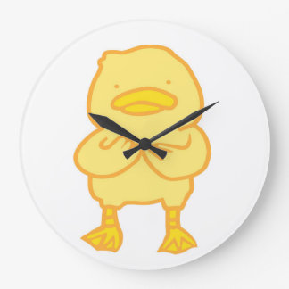 Relógio Grande (Grande) pulso de disparo redondo Ducky