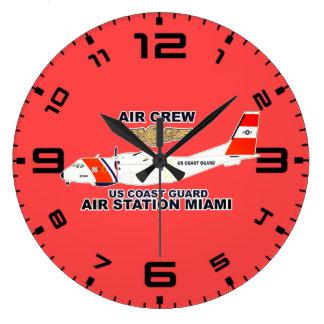 Relógio Grande Grupo do ar de Miami da estação aérea de USCG