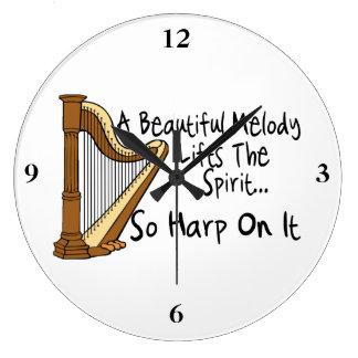 Relógio Grande Harpa nela
