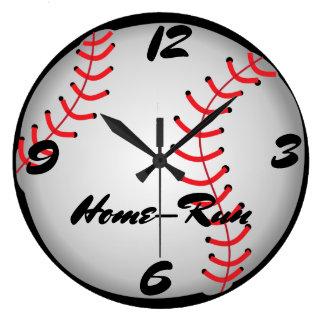 Relógio Grande Home run do basebol
