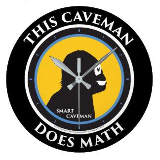 Relógio Grande Homem das cavernas de Smart da matemática do pulso