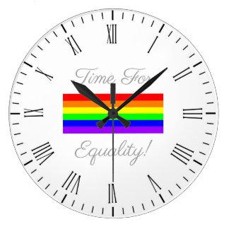 Relógio Grande Hora para a igualdade!