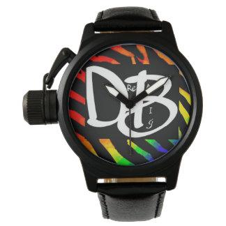 Relógio grande ideal 2 do impressão da zebra do