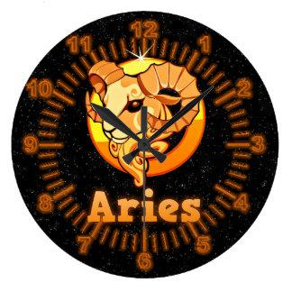 Relógio Grande Ilustração do Aries