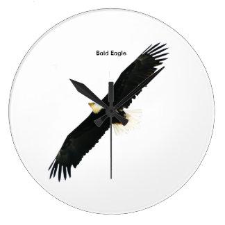 Relógio Grande Imagem da águia americana para o