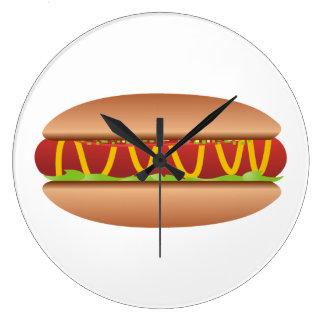 Relógio Grande Imagem do Hotdog