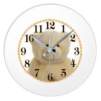 Relógio Grande Imagem do urso de ursinho para (o grande) pulso de