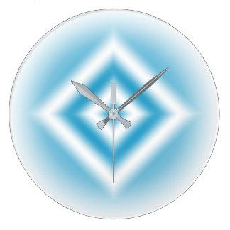 Relógio Grande inclinação azul do diamante do Personalizar-céu