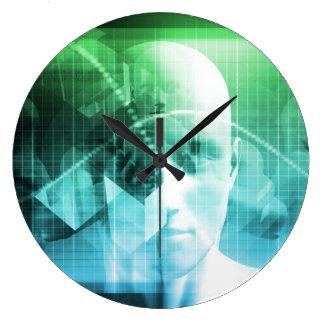 Relógio Grande Informação dos dispositivos de Digitas da
