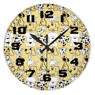Relógio Grande Ir aos presentes do cão do veterinário dos amantes