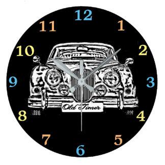 Relógio Grande Jaguar clássico MK 2 Wallclock