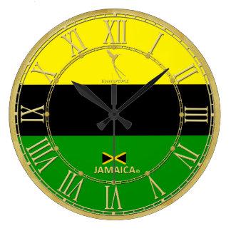 Relógio Grande Jamaica colore o pulso de disparo moderno dos