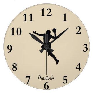 Relógio Grande Jogador do handball