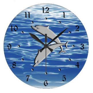 Relógio Grande Jogo do golfinho