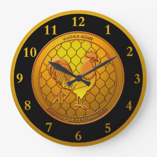 Relógio Grande KatkaKoin Cryptocurrency ICO