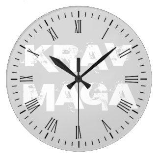 Relógio Grande Krav Maga