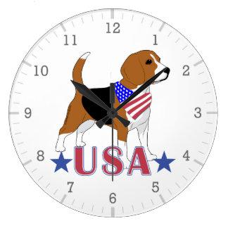 Relógio Grande Lebreiros: Os EUA Stars o lebreiro patriótico