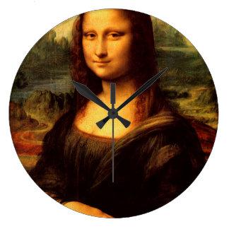 Relógio Grande LEONARDO DA VINCI - Mona Lisa, La Gioconda 1503