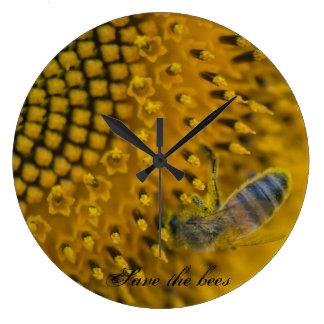 Relógio Grande l'horloge - abeilles dos les do sauver e do