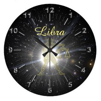 Relógio Grande Libra brilhante