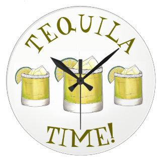 Relógio Grande Limão da bebida misturada do cocktail de Margarita