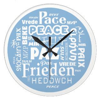 Relógio Grande Língua moderna à moda do múltiplo da PAZ do pulso